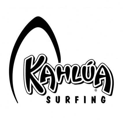 free vector Kahlua surfing