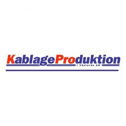 free vector Kablage production