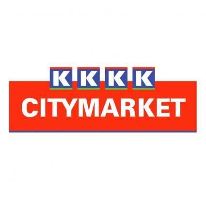 free vector K citymarket