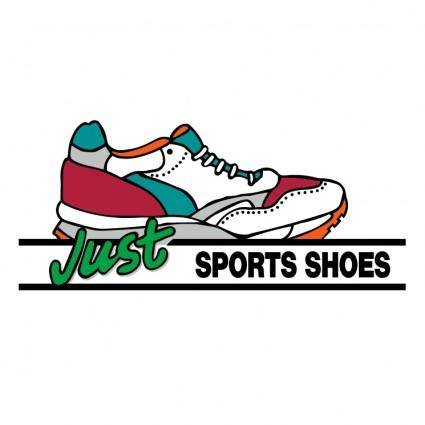 free vector Just sport shoes