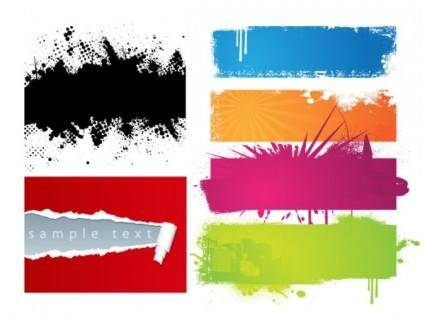 free vector Colorful decadence vector effect
