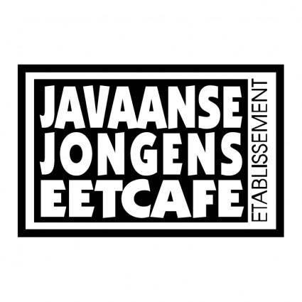 Javaanse jongens eetcafe