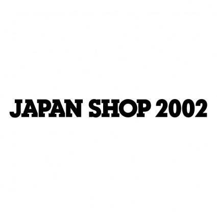 Japan shop 2002