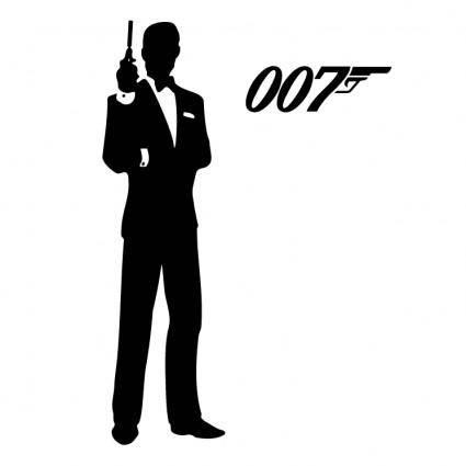free vector James bond 007