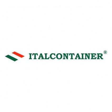 free vector Italcontainer