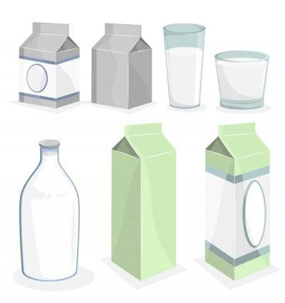 free vector All vector related to milk