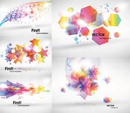Symphony of light vector graphic
