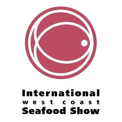 free vector International west coast seafood show