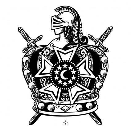 free vector International supreme council order of de molay 0