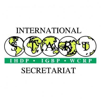 free vector International start secretariat
