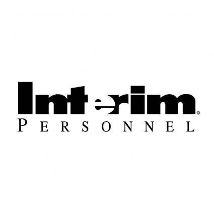 free vector Interim personnel