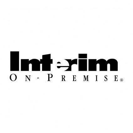 free vector Interim on premise