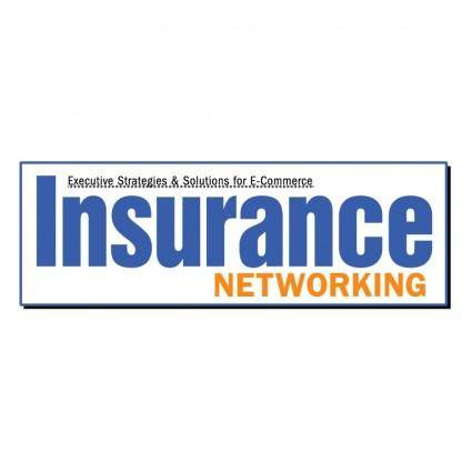 free vector Insurance networking