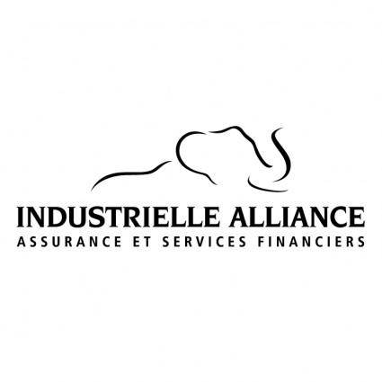 free vector Industrielle alliance