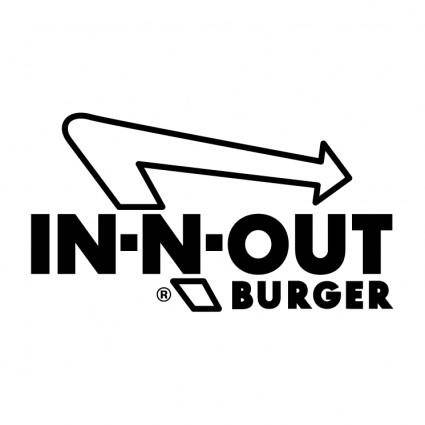 free vector In n out burger