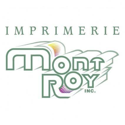 Imprimerie mont roy inc