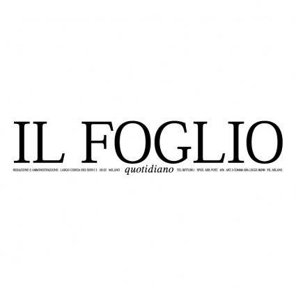 free vector Il foglio