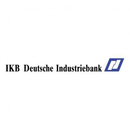 free vector Ikb deutsche industriebank