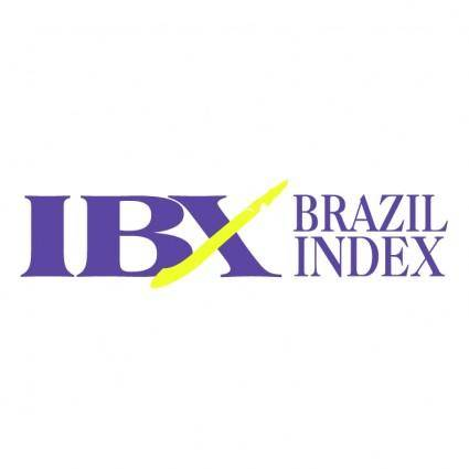 free vector Ibx brazil index