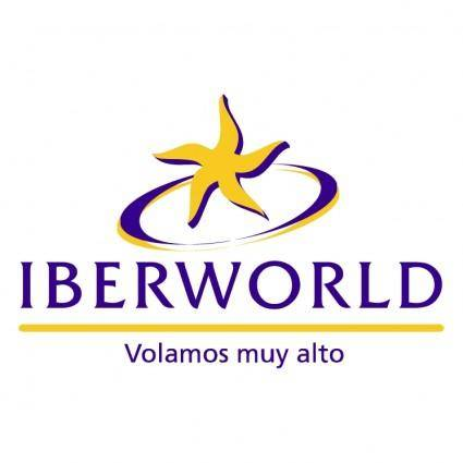 free vector Iberworld airlines