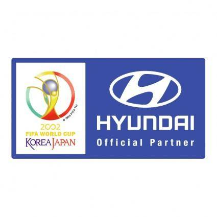 free vector Hyundai 2002 fifa world cup
