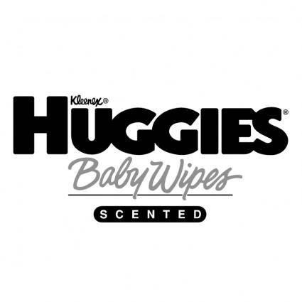 free vector Huggies baby wipes