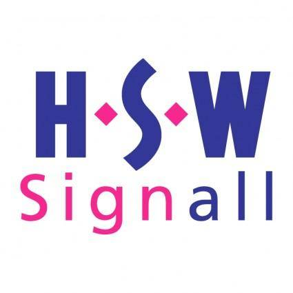 free vector Hsw signall