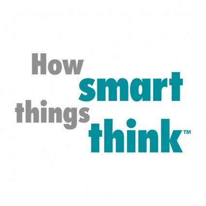 free vector How smart things think
