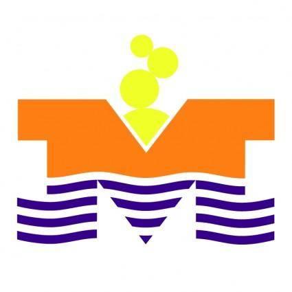 free vector Hotel mimoza tivat