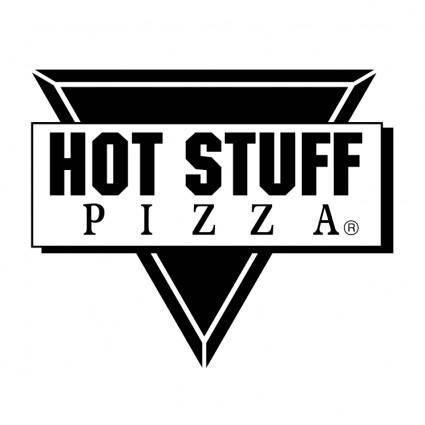 free vector Hot stuff pizza