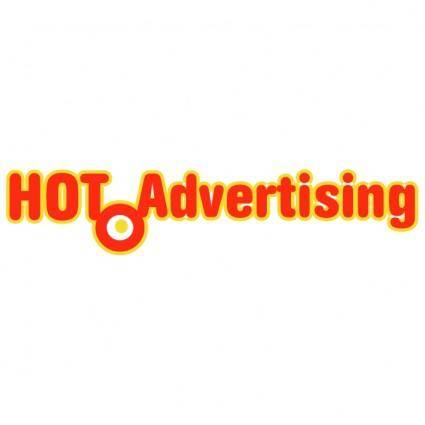 free vector Hot advertising