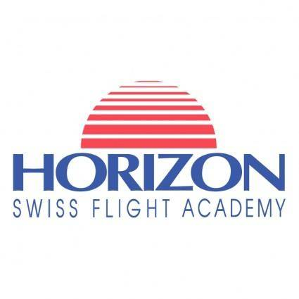 free vector Horizon swiss flight academy