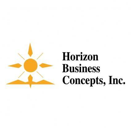 free vector Horizon business concepts