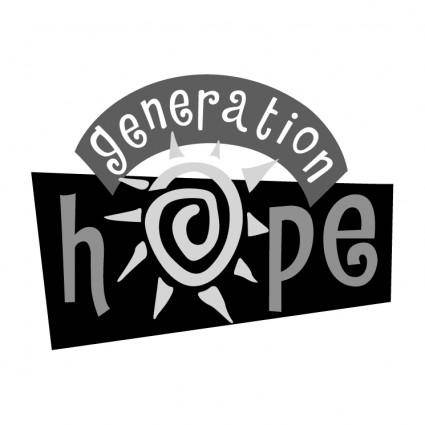 free vector Hope generation