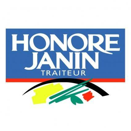 free vector Honore janin