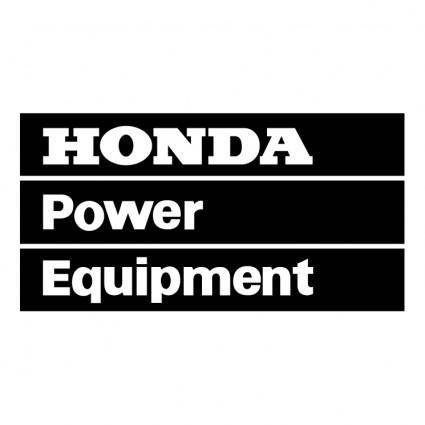 free vector Honda power equipment