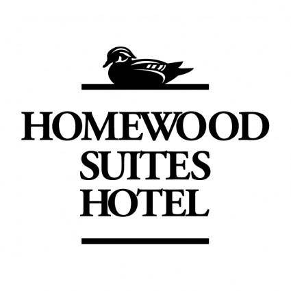 free vector Homewood suites hotel
