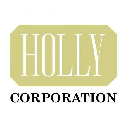 free vector Holly corporation 0