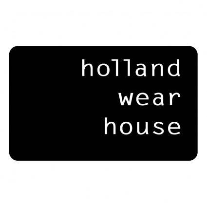free vector Holland wear house