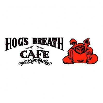 free vector Hogs breath cafe