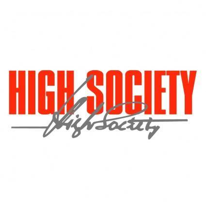 free vector High society