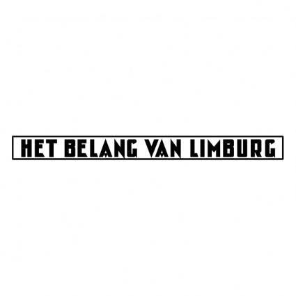 free vector Het belang van limburg