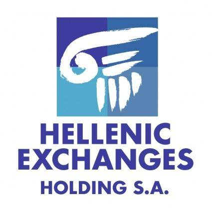 free vector Hellenic exchanges holding