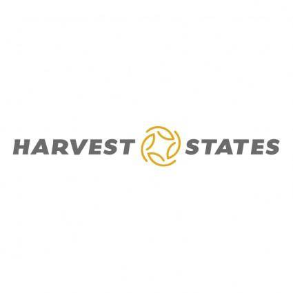 free vector Harvest states