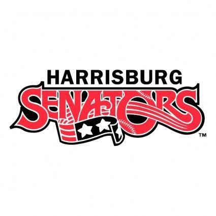 free vector Harrisburg senators 1