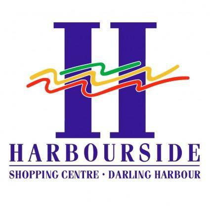 free vector Harbourside shopping centre