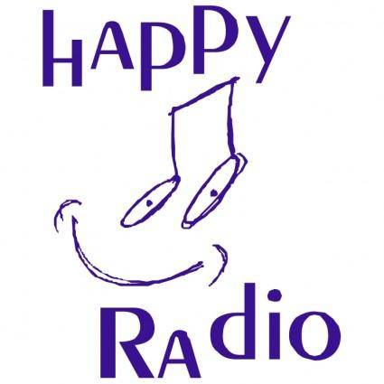free vector Happy radio