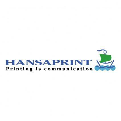 free vector Hansaprint