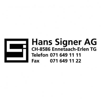 Hans singer