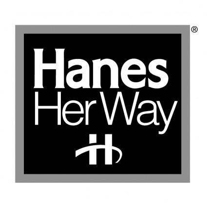 Hanes her way 0